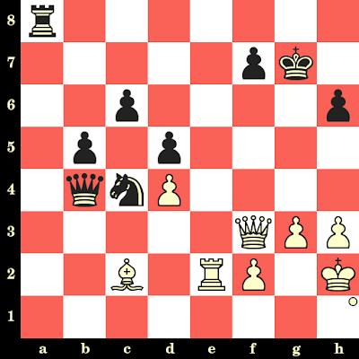 Les Blancs jouent et matent en 4 coups - Mikhail Tal vs Joseph Pribyl, Tallinn, 1977