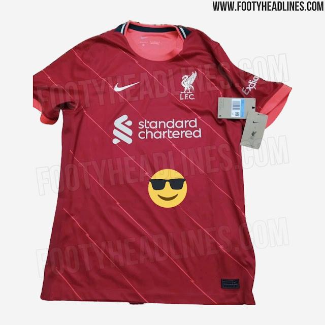 Liverpool FC 2021-2022 Home Nike Kit