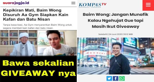 Baim Wong: Saat Kau Mati Hanya Pakai Kain Kaffan