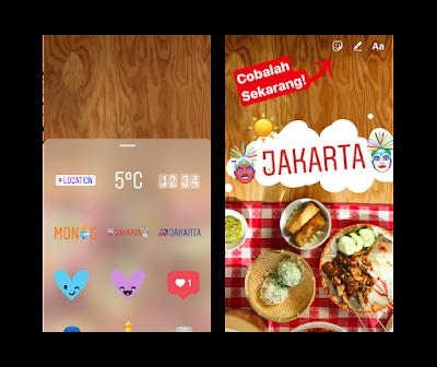 Instagram, redes sociales, geostickers, geolozalización