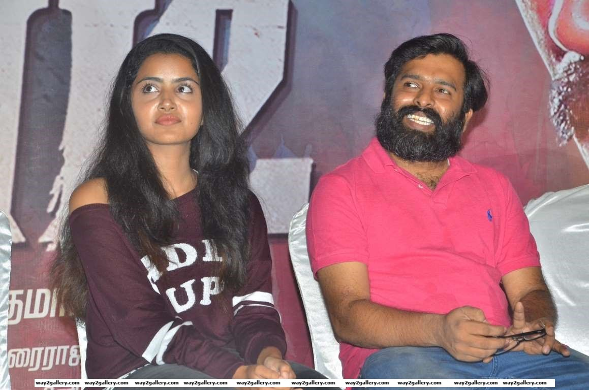 Anupama Parameshwaran was present at the press meet of Tamil film Kodi