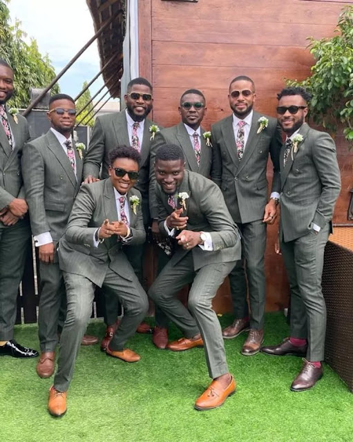 Check out more Photos and Videos from Actor Stan Nze wedding