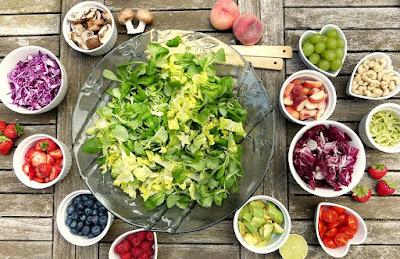 Makanan Sayuran dan Buah yang baik untuk kebugaran fisik