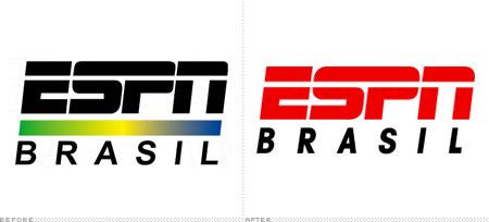 6e888ceff87ea Há alguns anos atrás, mais precisamente em 2006, a ESPN Brasil, que sempre  teve uma identidade visual diferente da marca mãe, foi padronizada para ...
