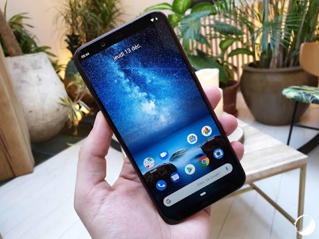 Getting started with the Nokia 8.1
