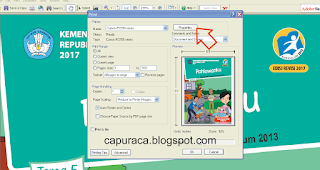 Cara ngeprint bolak balik file PDF di printer Canon