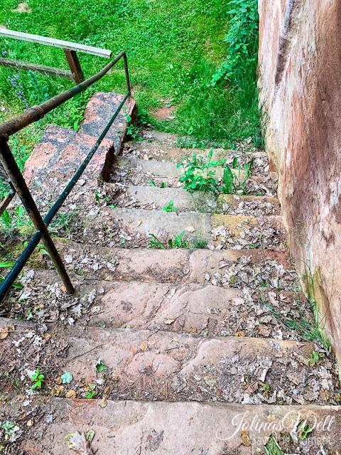 Stufen der Eremitage Bretzenheim