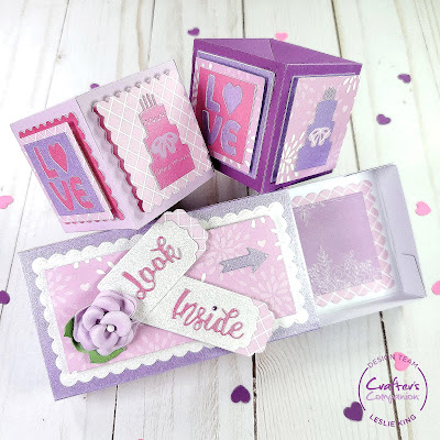 Featured: Crafter's Companion Gemini Confetti Box Die Set (Match Box)