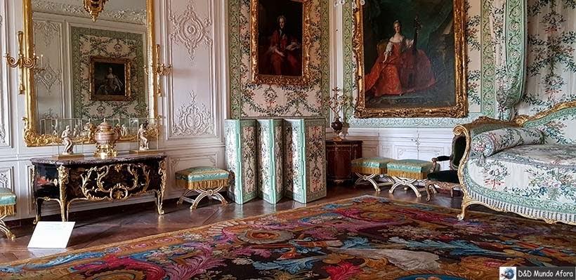 Cômodo do Palácio de Versalhes