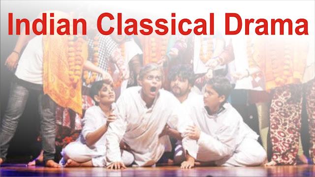 indian classical drama, sanskrit drama