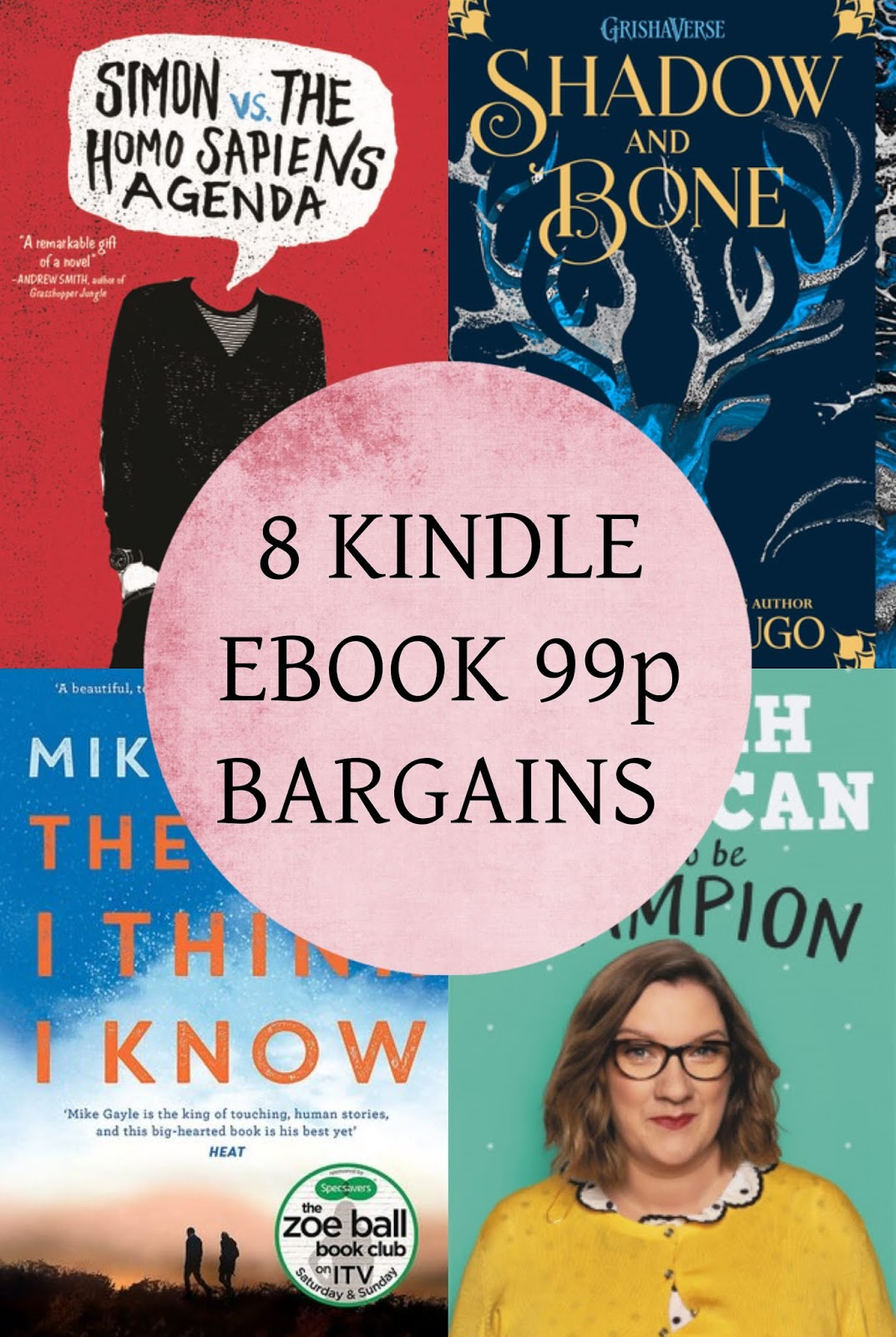 The Writing Finch - 8 Of The Best 99p Kindle Bargains