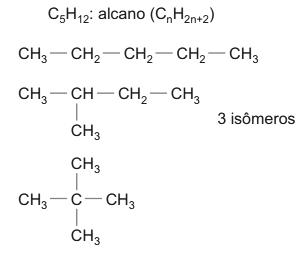 3 isômeros