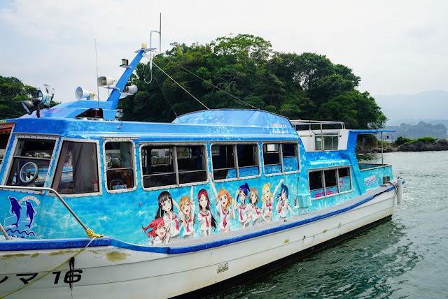 ラブライブ!サンシャイン‼︎ 淡島(あわしまマリンパーク)、聖地巡礼