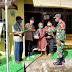Babinsa Koramil 02/Banjarsari Bagikan Paket Sembako Kepada Para Pejuang Veteran