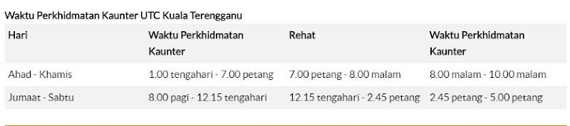Lupa Renew Lesen - Renew Lesen Di Kaunter JPJ, UTC Kuala Terengganu