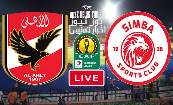 Watch Match Al Ahlye vs Simba Sports Club Live Stream In Champions League Afrique