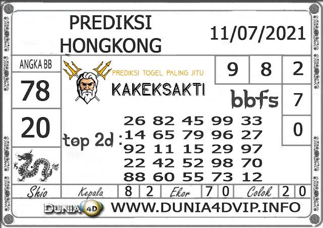 Prediksi Togel HONGKONG DUNIA4D 11 JULI 2021