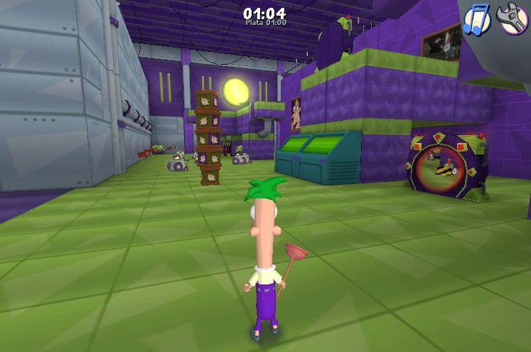 Unity 3d Phineas Y Ferb Gatolab Demo