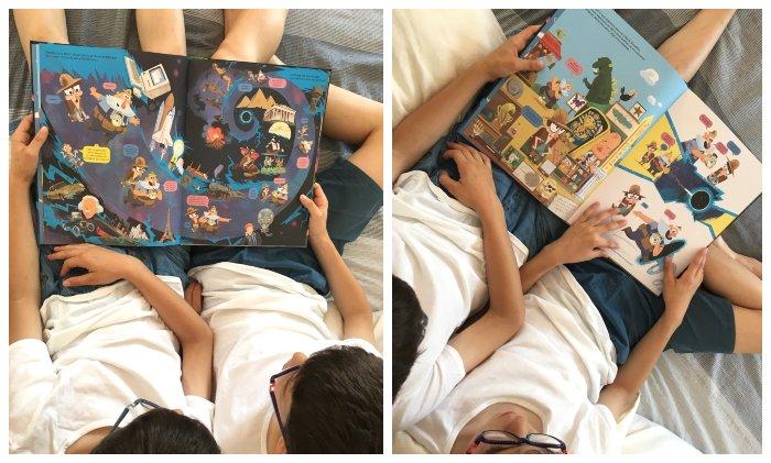 libro infantil edelvives el gran salto al big bang libro-juego