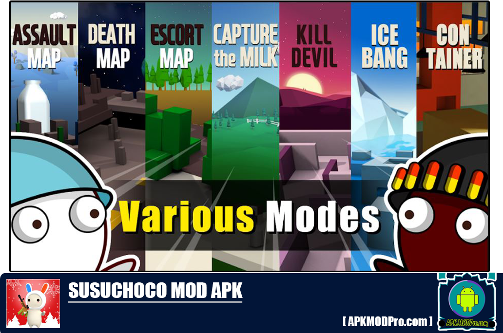Download SusuChoco - MilkChoco Online FPS MOD APK 1.18.2 [Unlimited Money]