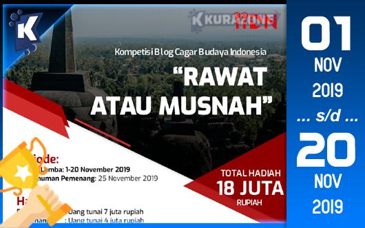 Kompetisi Blog - IIDN Berhadiah Total Uang Tunai 18 Juta Rupiah