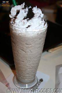 milk oreo shake