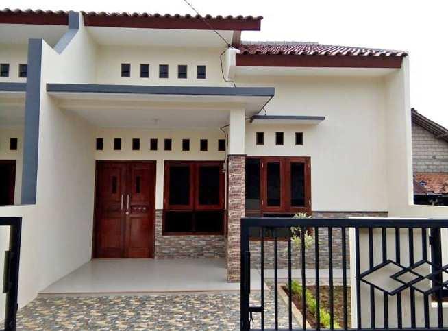 Gambar variasi depan rumah minimalis type 36 dengan batu alam