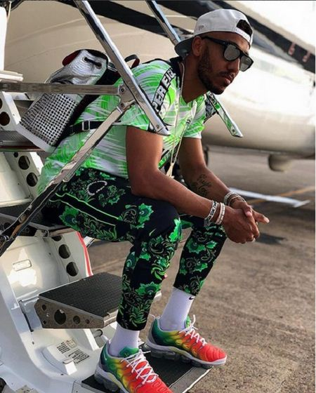 Aubameyang-wear-super-eagles-jersey