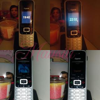 Telefon verschiedene Position