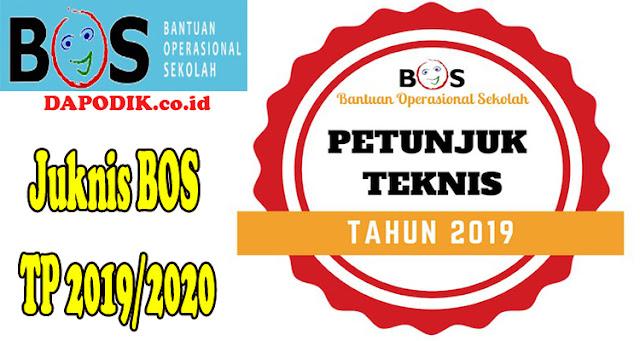 Permendikbud No 3 Tahun 2019 Tentang Petunjuk Teknis (Juknis) Bantuan Operasional Sekolah (BOS) Reguler - Lampiran I & II TP. 2019/2020