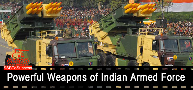 powerful weapons of armed forces