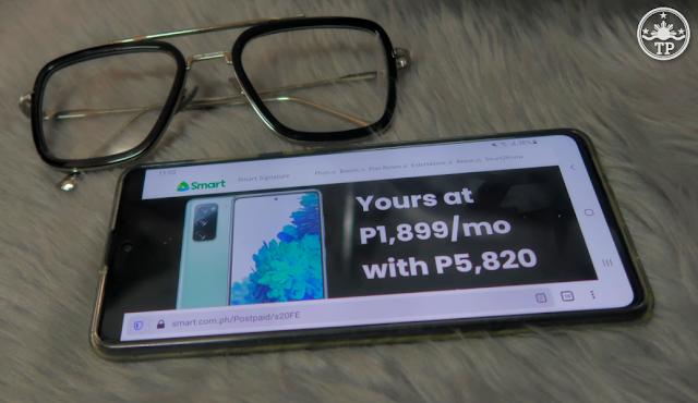 Samsung Galaxy S20 FE Smart Signature Postpaid