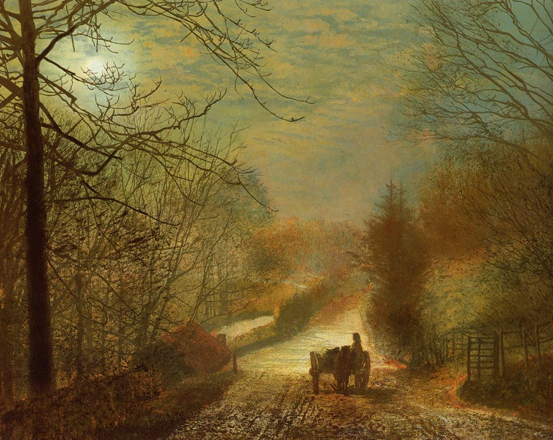 Art Artists John Atkinson Grimshaw