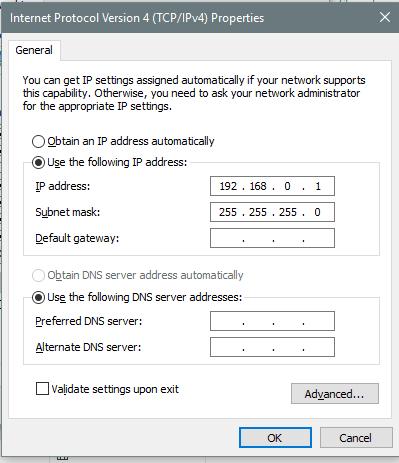 Cara konek laptop dengan lan