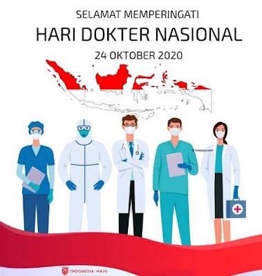 caption ucapan selamat hari dokter nasional 2020