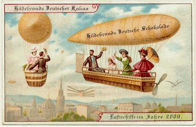 Personal airships.
