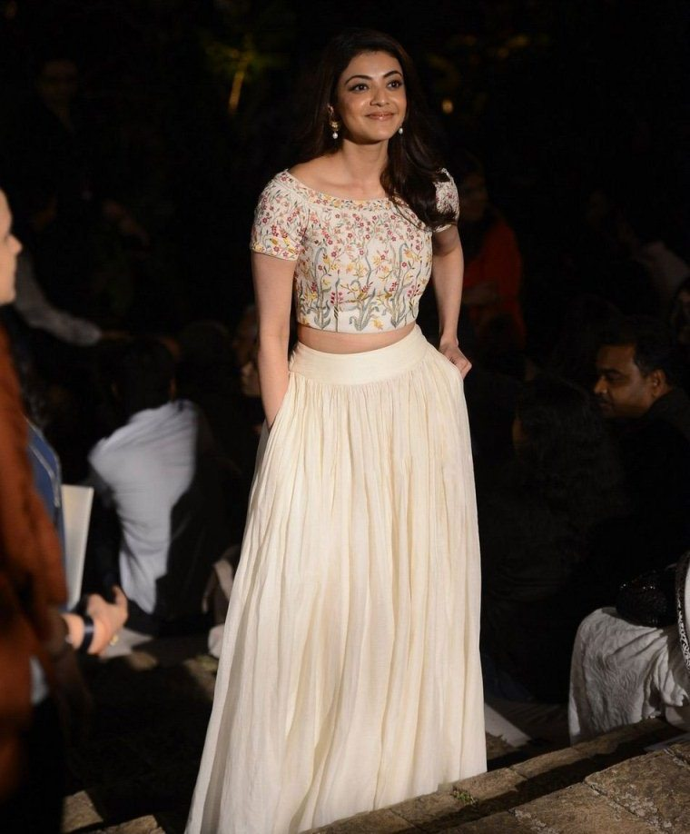 Kajal Agarwal at Lakme Fashion Week Summer Resort 2017