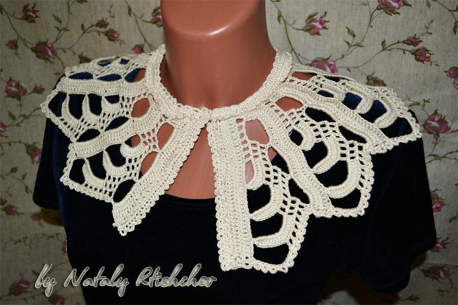 Patron Crochet Cuello