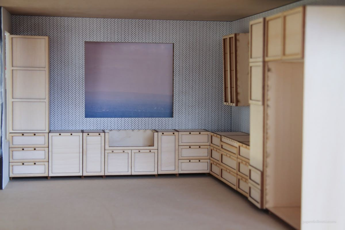 Kitchen Pt 2 Cabinets