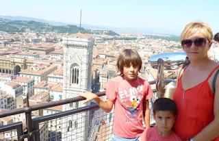 Florencia desde el mirador de la cúpula del Duomo.