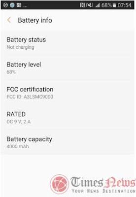 2016 Samsung Galaxy C9 confirmed FCC with 4000mAh, LTE, and WiFi IEEE 802.11