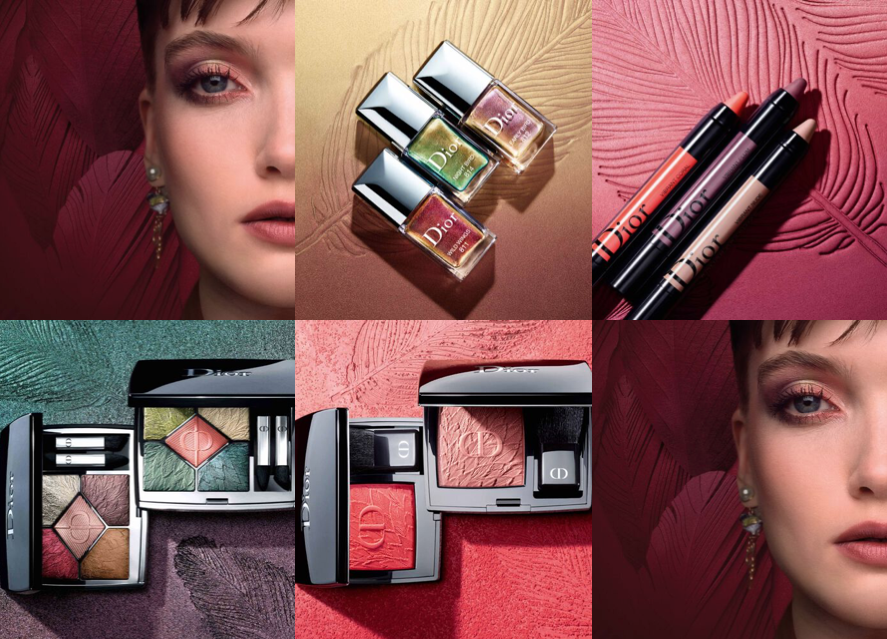 Dior Fall 2021 Birds of a Feather Makeup Collection