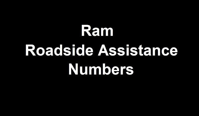 Ram Roadside Assistance Number