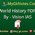 World History PDF By - Vision IAS