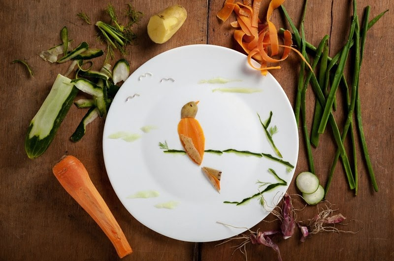 A Tribute to Budgie, Food Illustrations | Anna Keville Joyce