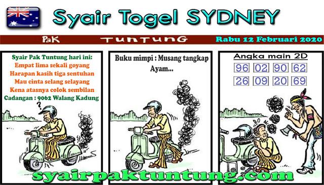 Prediksi Togel Sidney Sabtu 08 Februari 2020 - Prediksi Pak Tuntung