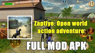 Download Zaptiye: Open World Action Adventure MOD APK Unlimited Money & Coin