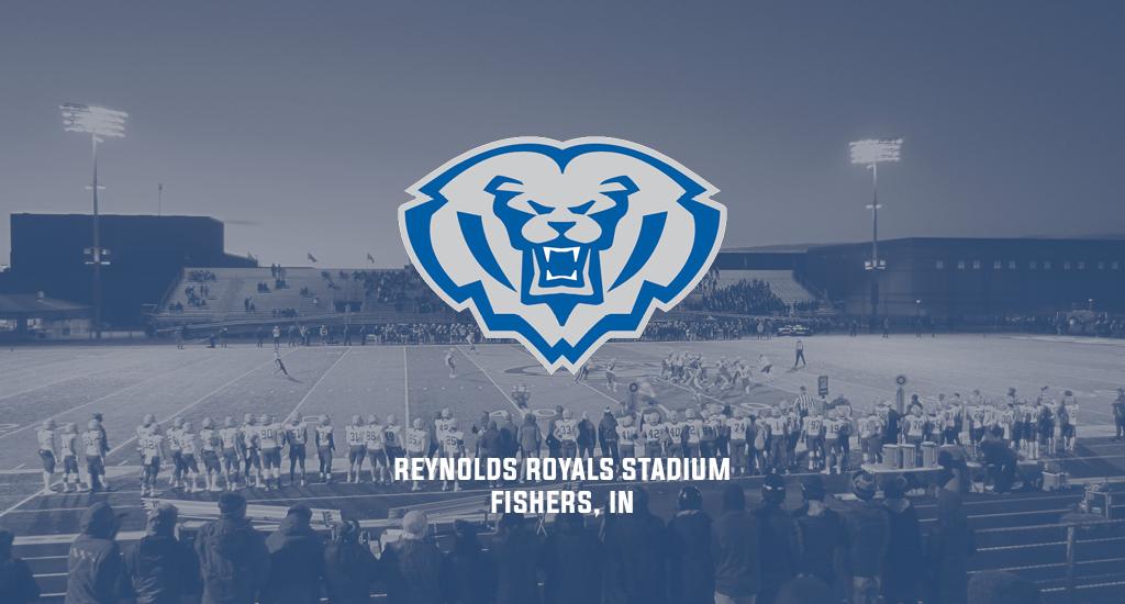 Reynolds Royals Stadium and HSE Royals logo