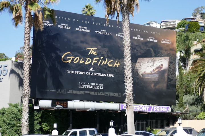 Goldfinch billboard
