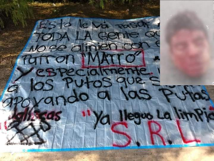 "Cartel de Santa Rosa de Lima de ""El Marro"" deja decapitado a miembro del CJNG en autopista Salamanca-Morelia"